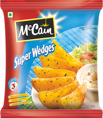 McCain Super Wedges