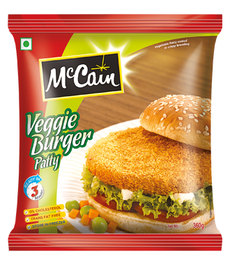Frozen Veggie Burgers patty