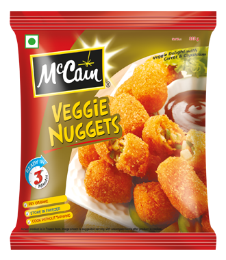 McCain  Mix Veggie Potato Nuggets