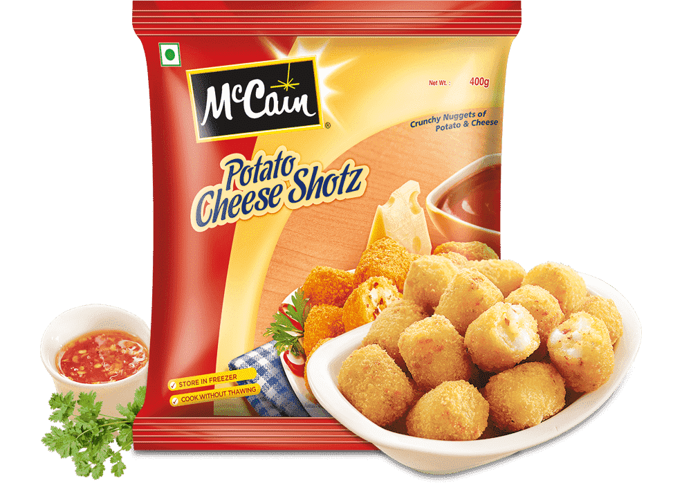 McCain Crunchy Nuggets Potato Cheese Shotz