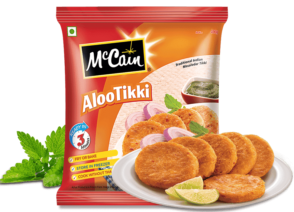 McCain Traditional Indian Crispy Vegetable Aloo Tikki