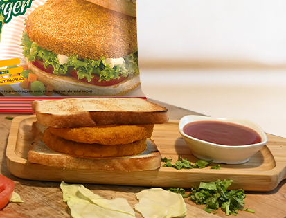 McCain Veggie Patty Cutlet Sandwich